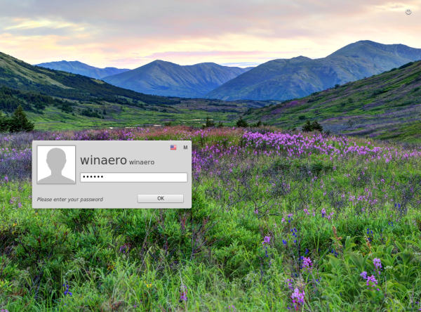 linux mint login window session 2