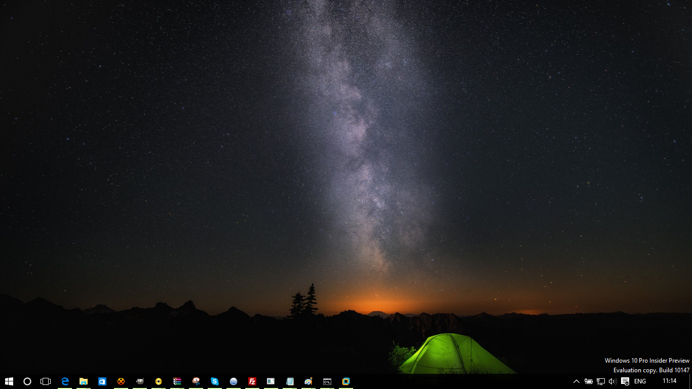 default wallpapers from Windows 10