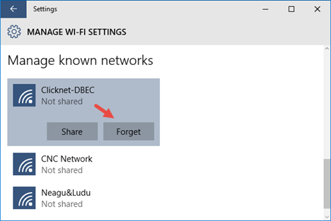 windows 10 forget wifi network 04