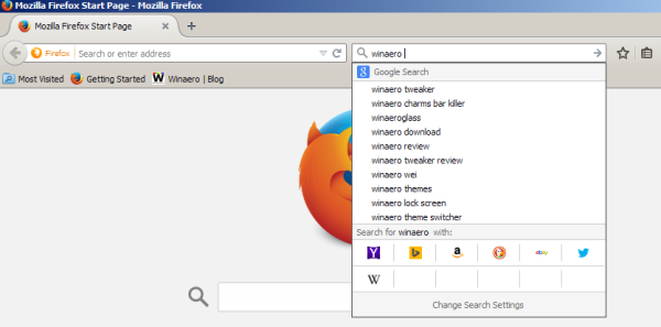 Firefox change search engine hotkeys 01