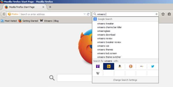 Firefox change search engine hotkeys 03