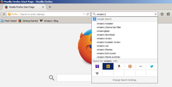 Firefox change search engine hotkeys 03