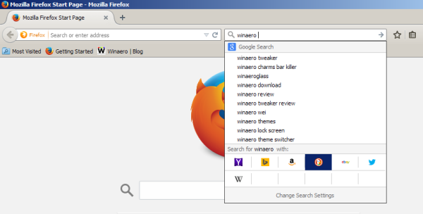 Firefox change search engine hotkeys 04