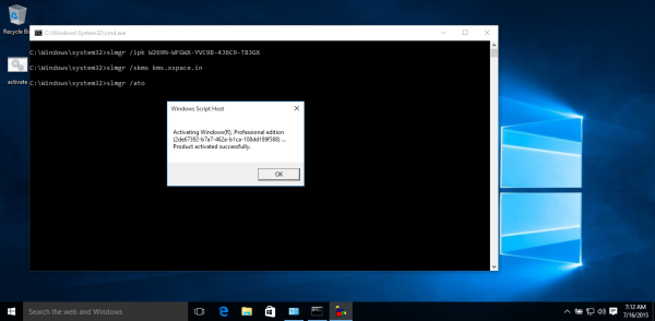 Windows 10 20240 activation