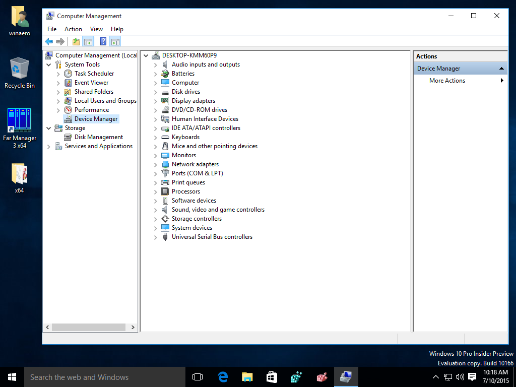 Driver Support Uninstall Windows 10