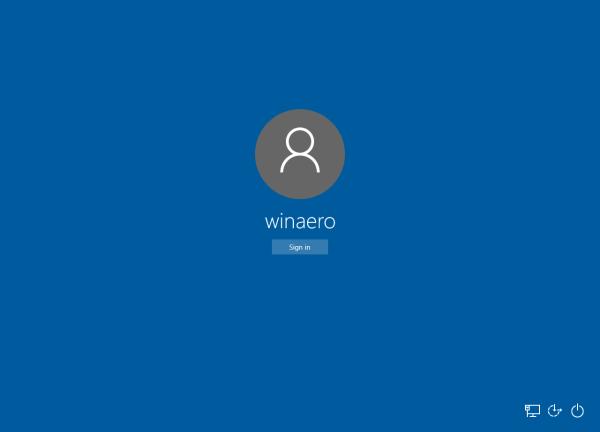 ... Winaero Tweaker,  you can go to Boot and Logon -> Login Screen Image
