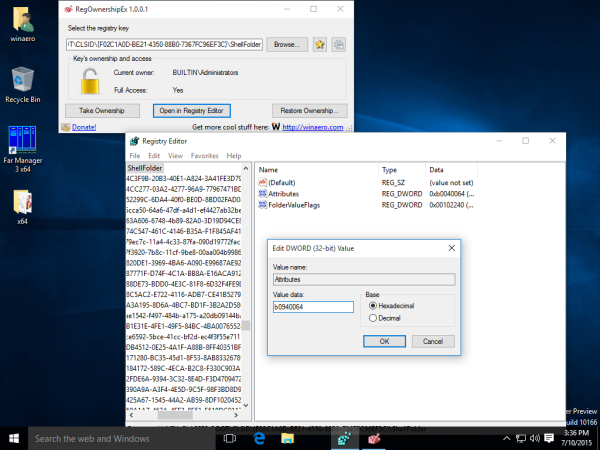 windows 10 hide network icon registry tweak