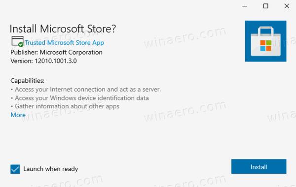 Microsoft Store App Installer Windows 10
