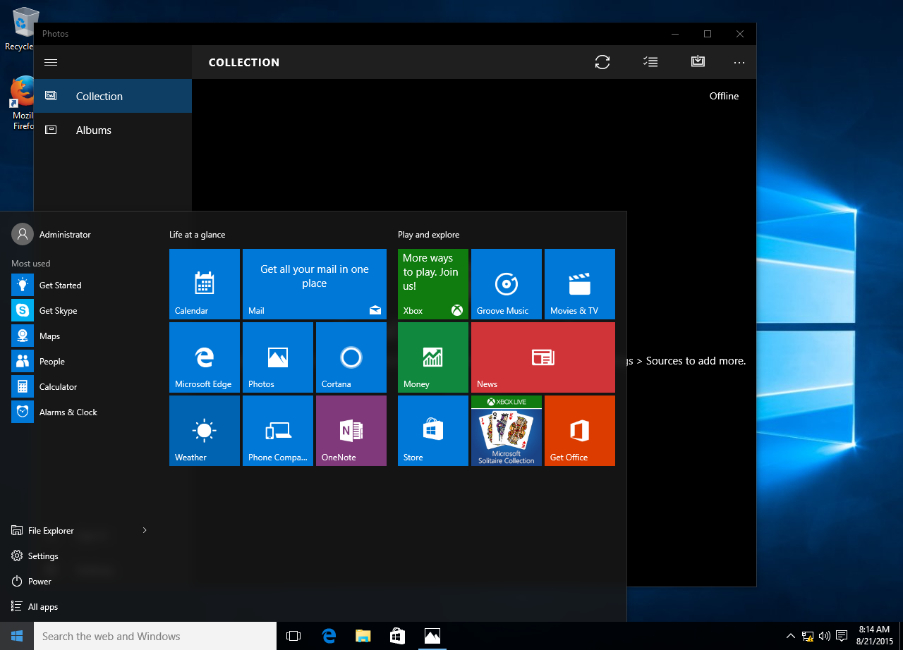 Windows  Home Built In Administrator