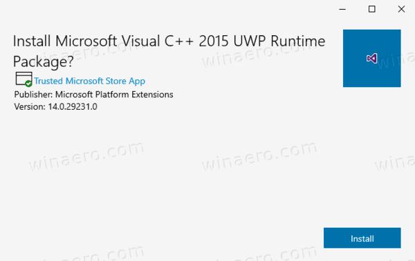 Restore Microsoft Store In Windows 10