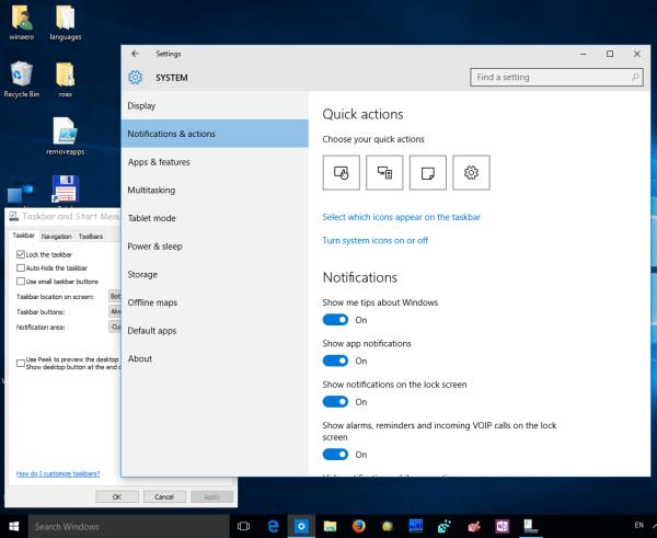 Windows 10 vpn system tray