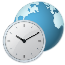 mui language regional clock globe icon