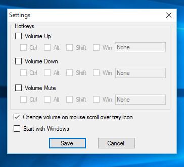 SimpleSndVol settings