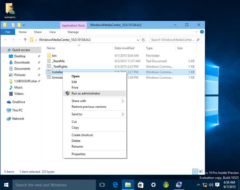 How to get genuine Windows Media Center working in Windows 10