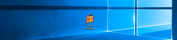 Windows 10 restore briefcase