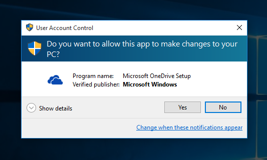 how to delete onedrive from windows 10