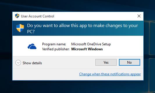 Windows 10 uninstall onedrive 2