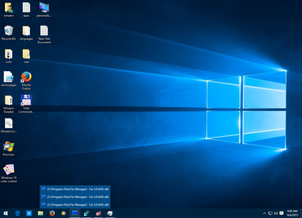 multi window preview Windows 10 disabled