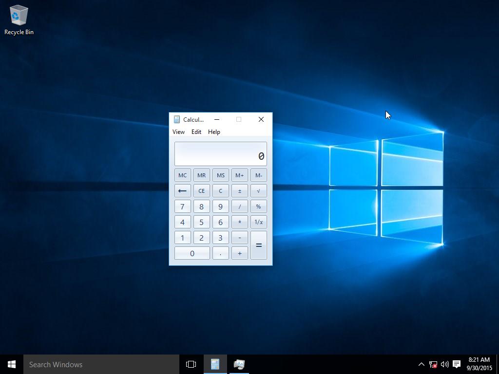 Windows 10 ltsb calculator