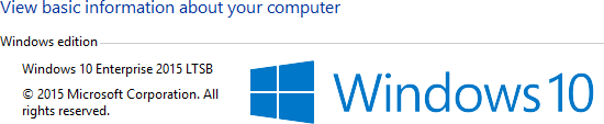 windows 10 ltsb