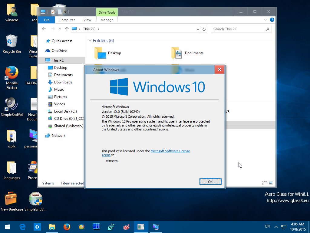 Uncategorized/telecharger skype gratuit pour windows -  Windows 10 Aero Glass In Action