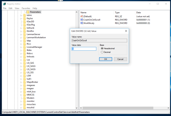 Windows 10 CrashOnCtrlScroll 2