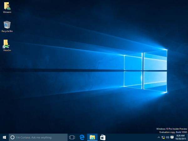 Windows 10 big taskbar