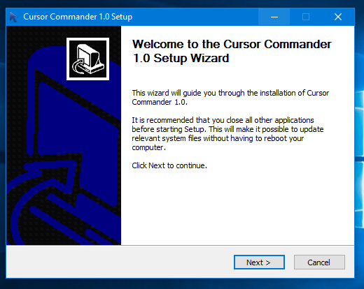 Get beautiful cursors with one click in Windows 10