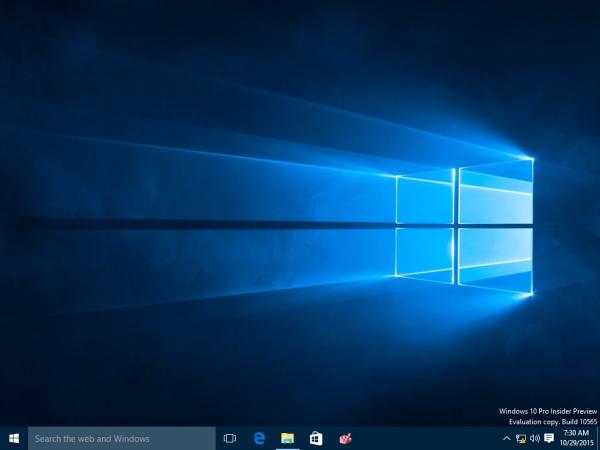Windows 10 no deskop icons