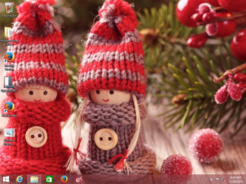 Christmas 2015 theme for Windows 10, Windows 7 and Windows 8 - Winaero