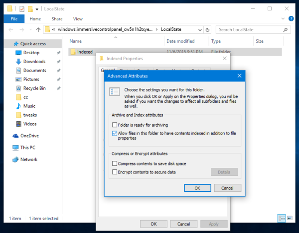 Windows 10 fix search does not work in Settings
