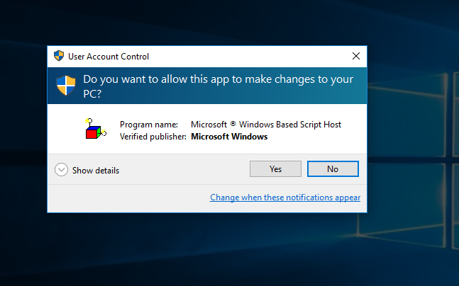 add run as administrator context menu item to vbs files