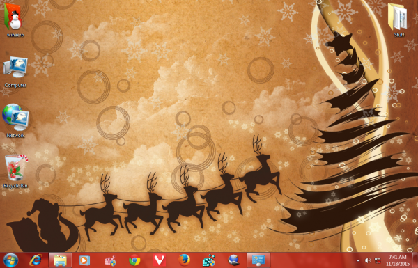 new year 2016 theme WIndows 7-4