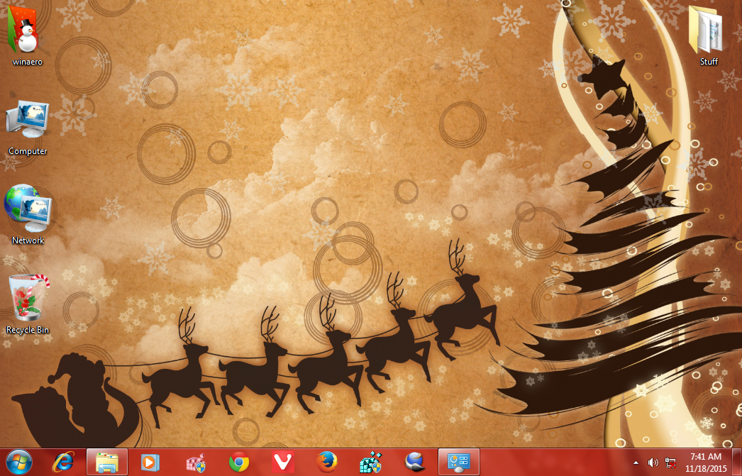 new year 2016 theme windows 7 4