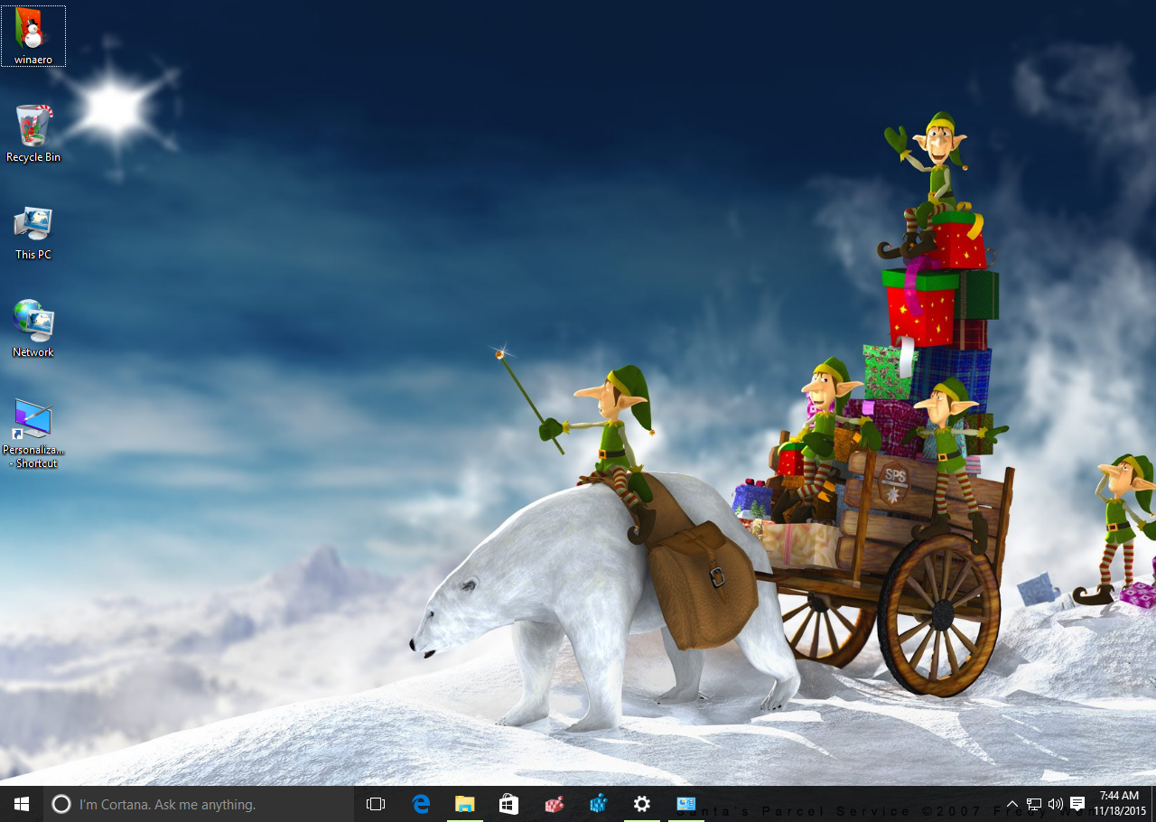 new year 2016 theme windows 10 1