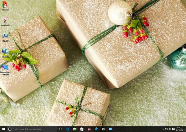new year 2016 theme Windows 10 - 2