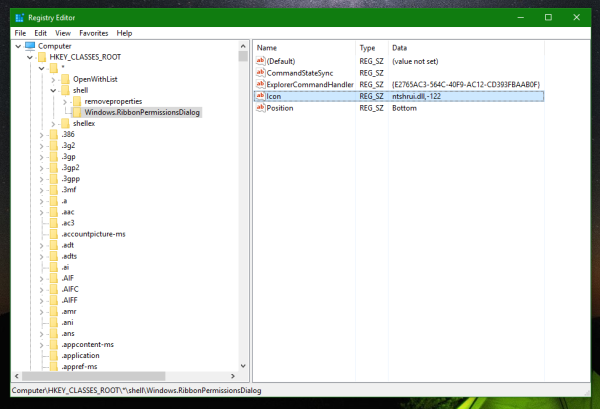 Windows 10 advanced security context menu tweak
