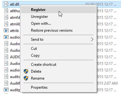 Windows 10 register dll context menu in action fi