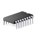 driver chip device board icon