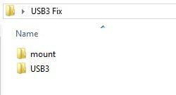 usb 3.0 fix subfolders