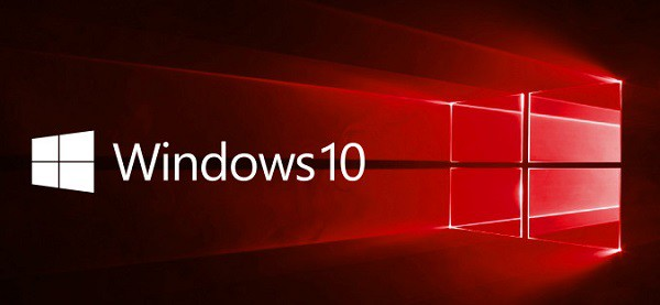 windows-10 logo banner red