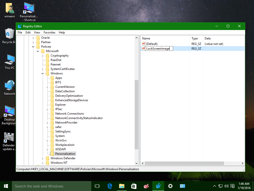 How to change default lock screen image in windows 10 for How to design windows