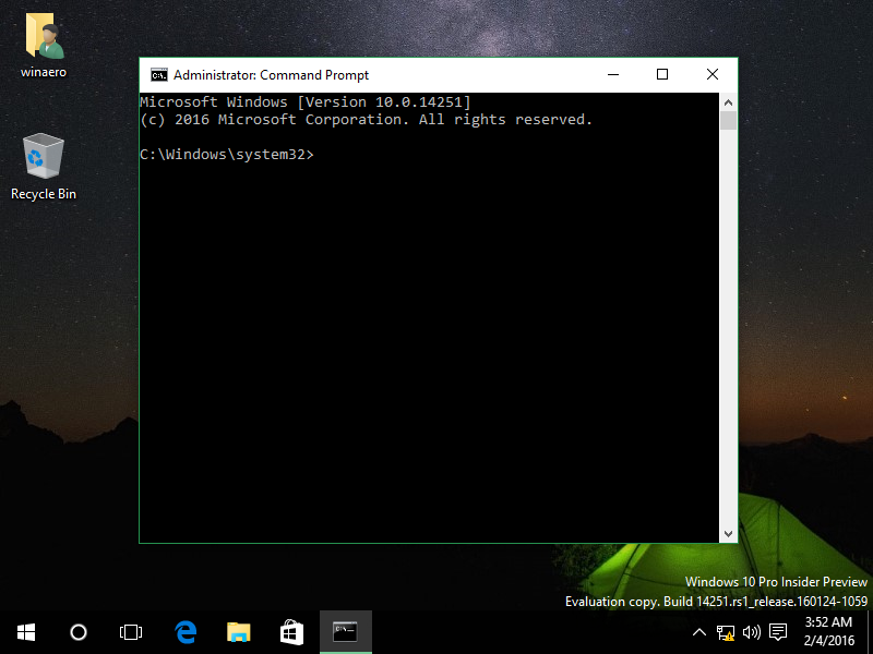 cmd run as administrator command windows 8