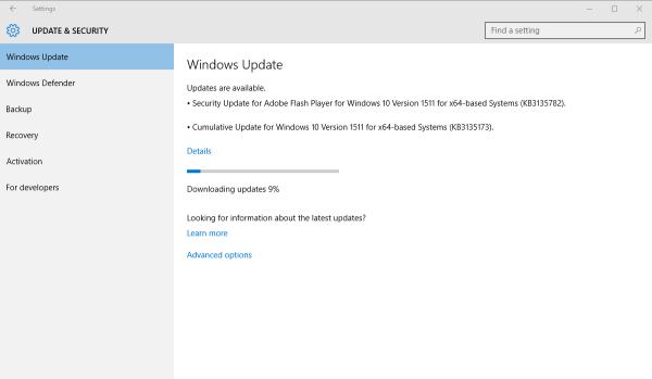 Windows 10 build 10568.104