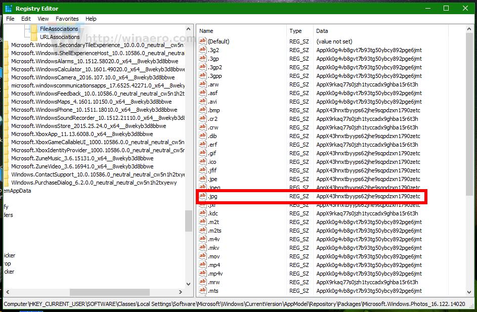 Changing Default File Associations Windows 10 - ▷ ▷ PowerMall