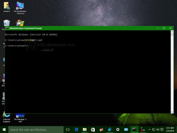 Windows 10 slmgr upk