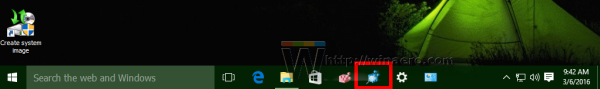 Windows 10 changed pinned app icon