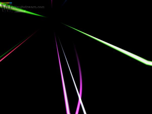 Windows 10 ribbons screensaver