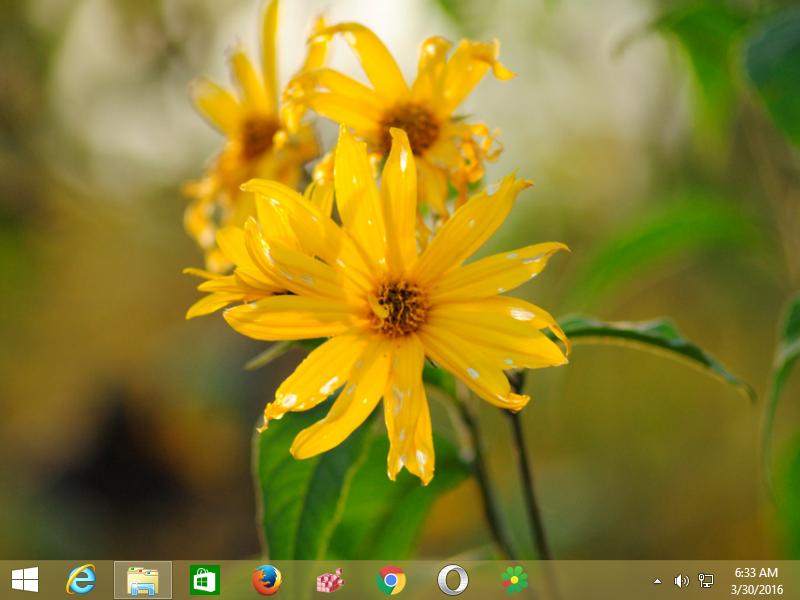 Xubuntu Wallpapers Windows 8 Theme 01