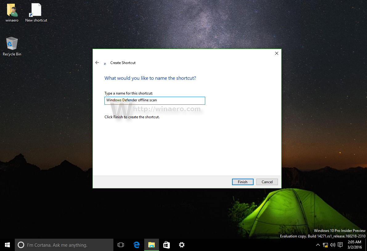 how to run windows defender scan on windows 10
